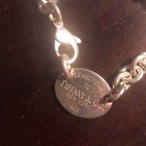 Tiffany & Co. Jewelry - Return to Tiffany Sterling Silver Necklace